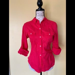 Old Navy Size M Button Down Shirt